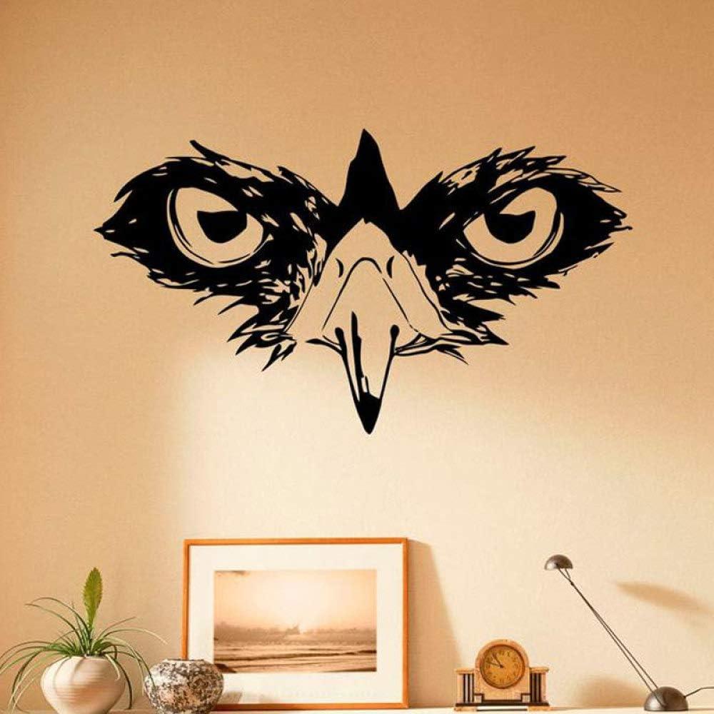 Animal Owl Pegatinas de pared Ojos Pegatinas de vinilo Animales ...
