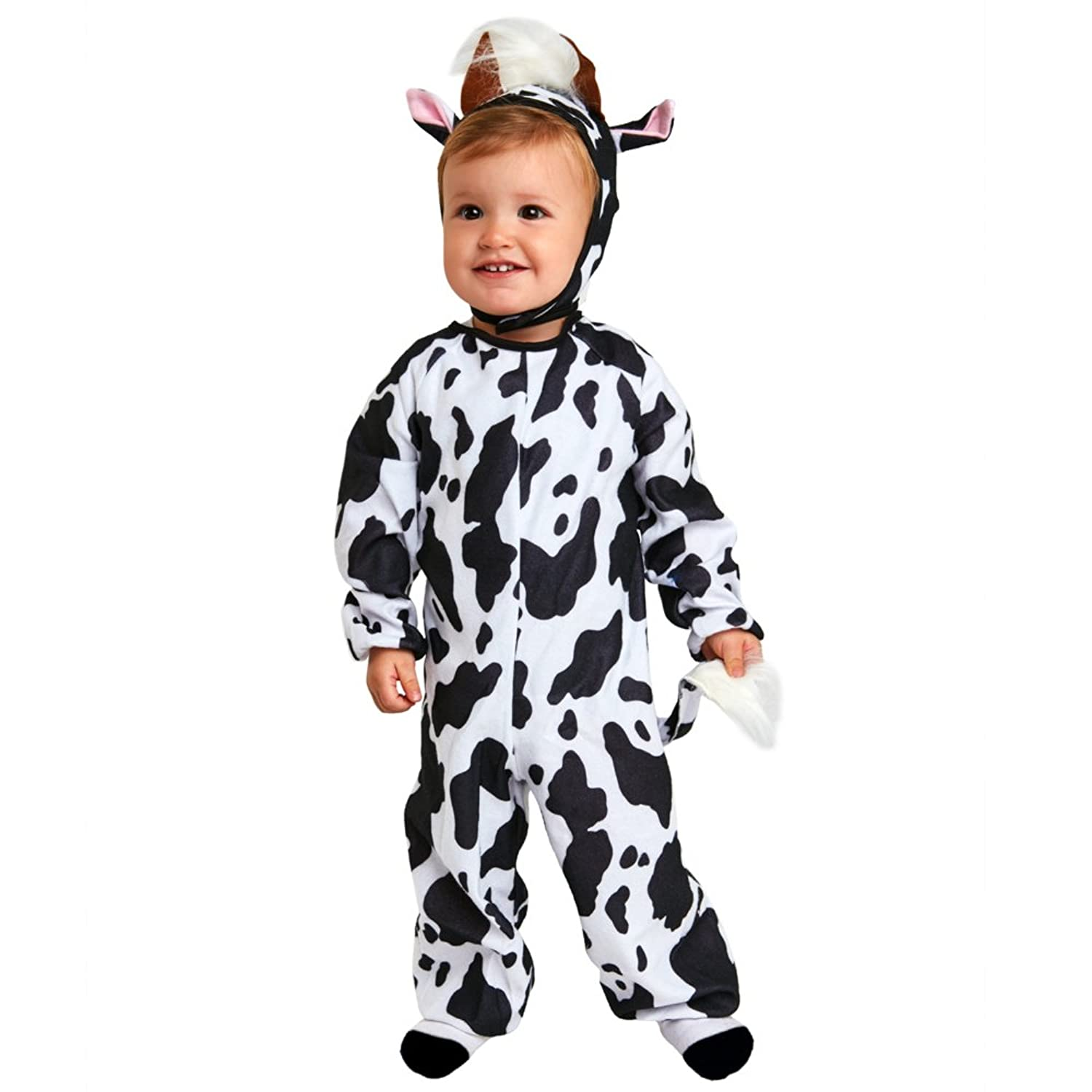 Toddler Cow Costume (Size: 24 Months)