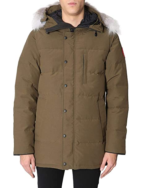 the latest ed809 614b2 Canada Goose Giacca Outerwear Uomo 3805M49 Poliestere Verde ...