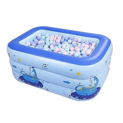 Bañeras con Jacuzzi Piscina Inflable para niños Baño ...