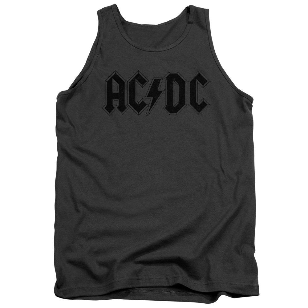 ACDC Mens Worn Logo Tank Top