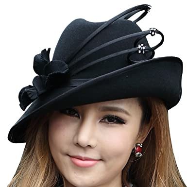 67e7aa0247b4a June s Young Women Hats Winter Hat Popular Style Elegant at Amazon ...