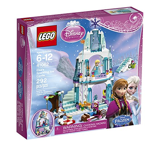 LEGO Disney Princess Elsa's Sparkling Ice Castle (Best Disney Frozen Friends Gift Sets)