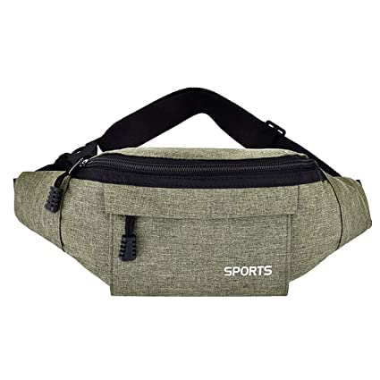 2c8526f4d87a Amazon.com : Hopwin Travel Fanny Pack Bags | Slim Soft Water ...