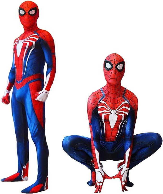 Disfraz de Spiderman PS4, Traje de Spider-Man insomnio, Disfraz de ...
