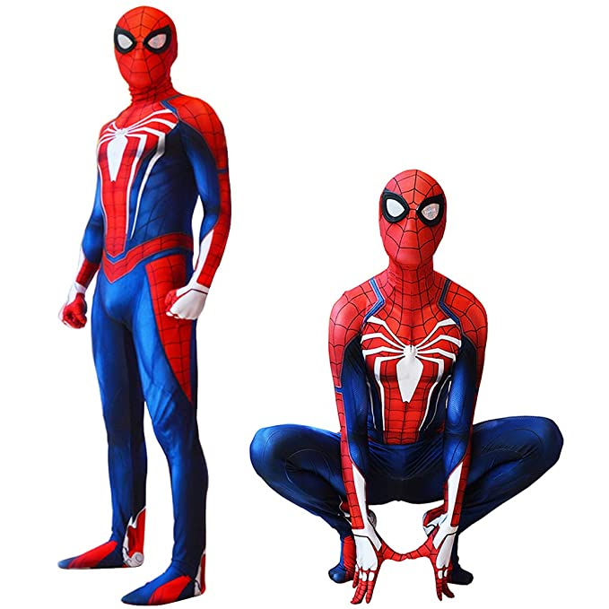 Amazon.com: Disfraz de Spiderman PS4, Traje de Spider-Man de ...