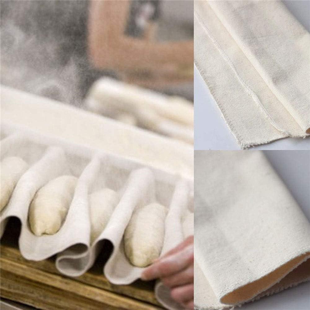 Bread Fermented Cloth Linen Flax Cloth Dough Bakers Baguette Mat Pastry Kitchen