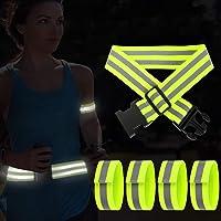 AivaToba reflecterende band voor op de fiets reflectoren voor kinderen, 5 stuks, reflecterende band voor hardlopen…