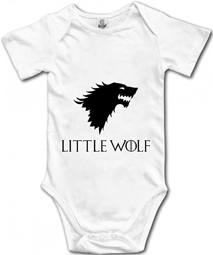 Wolf Sloth Cotton Short Sleeve T Shirts for Baby Toddler Infant