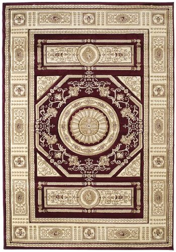 (United Weavers of America Contours Collection Camryn Heavyweight Heatset Olefin Rug, 7-Feet 10-Inch by 10-Feet 6-Inch,)