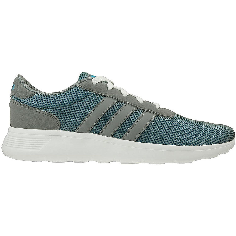 adidas Lite Racer   F99415   Farbe: Grau Weiß Blau   Größe: 45.3