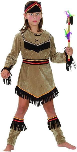 Disfraz de india para niña 7 à 9 ans: Amazon.es: Juguetes y juegos