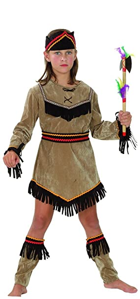 Disfraz de india para niña 7 à 9 ans: Amazon.es: Juguetes y ...