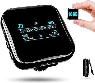 Mini Diktiergerät Recorder Stimmenaktivierung 16gb Elektronik