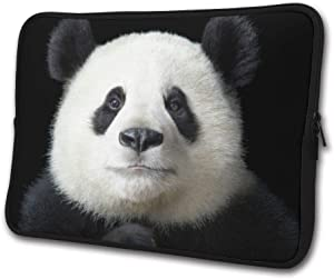 SWEET-YZ Laptop Sleeve Case Panda Head Notebook Computer Cover Bag Compatible 13-15 Inch Laptop