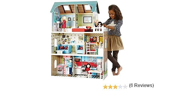 Amazon.es: itsImagical - Amanda Family Maison, casita de muñecas (Imaginarium 73371): Juguetes y juegos