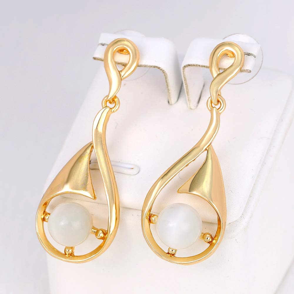 d599d0a0ae692 80% discount on WJASI Fashion Drop Earrings, Gold Plated Earrings ...