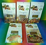 GREECE GREEK HERBS & SPICES 5 PACKS X 40g FOR , LAMB,CHICKEN,BERGERS ,BARBECUE,FISH, FRESH