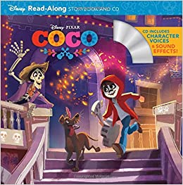Coco Read-Along Storybook and CD: Disney Book Group: 9781484787885