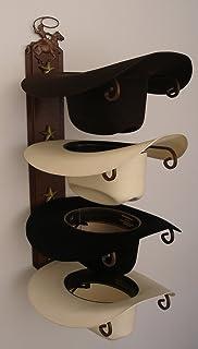 7f2d215bad2 Amazon.com  DeLeon Fold-Up Metal Star Hat Rack  Home   Kitchen