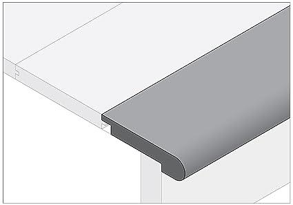 Moldings Online 2003478031 78u0026quot; X 2.75u0026quot; X 0.75u0026quot; Unfinished  Pine Stair Nose
