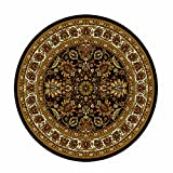 Home Dynamix  Royalty Collection  8079-450  Black  7'10''  Round Area Rug