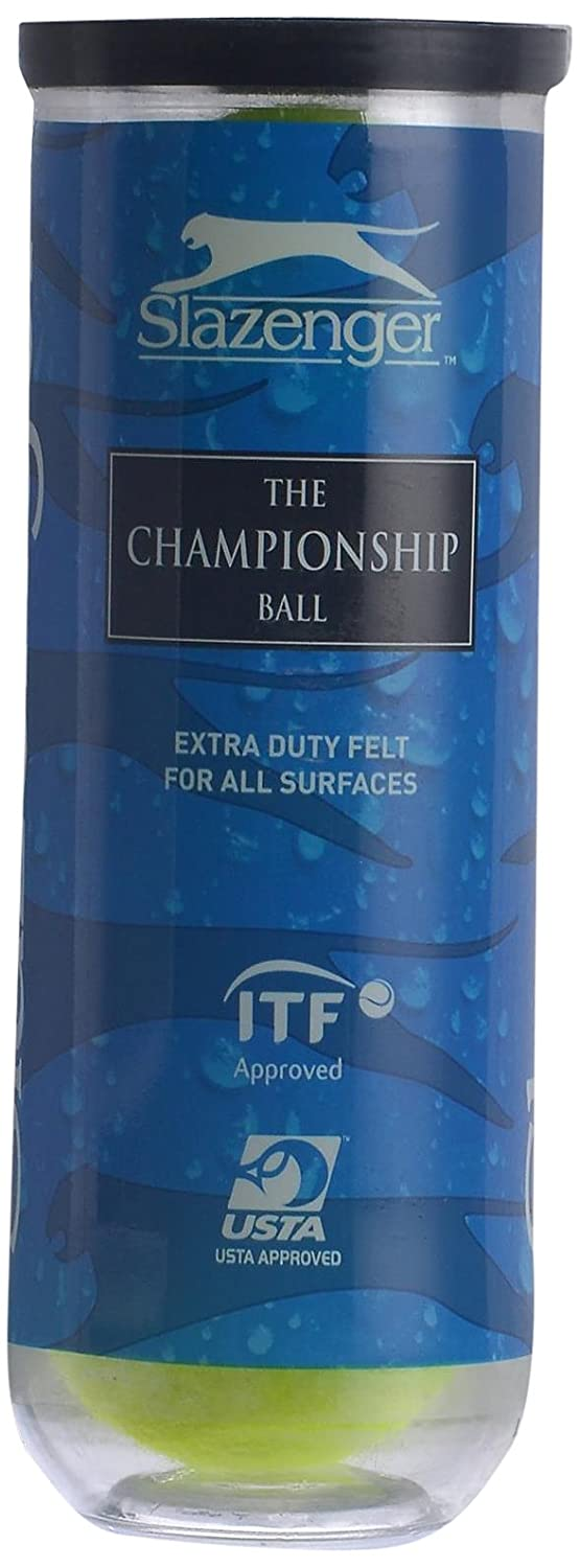 Buy Slazenger Championship Tennis Balls Pack Of 3 Online At Low 1084 Trolley Case 28 Inc Prices In India