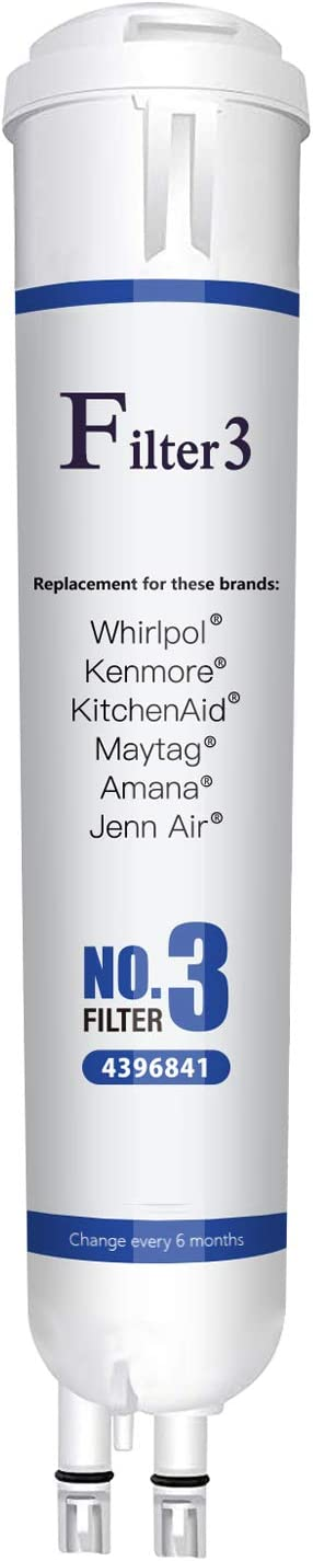 Replacement for Refrigerator Water Filter Kenmore 9083, 9030 Water filter 3 Cap 1 Pack
