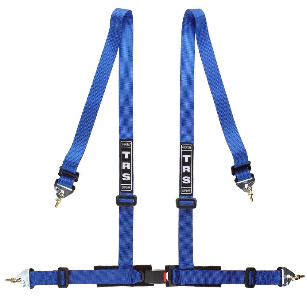 TRS-MOTORSPORT TRS de motor sport mh340 –  100 de color azul de 4 puntos Sport Correa arneses lí quidos de cierre Snap Hook S de autorizació n ABE JDM Rally, Azul MH340-100-blau