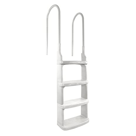 easy incline above ground pool ladder