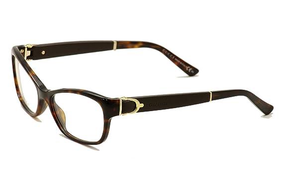 ea8f8880b2 Amazon.com  Gucci GG3639 Eyeglasses-00XW Havana -53mm  Clothing