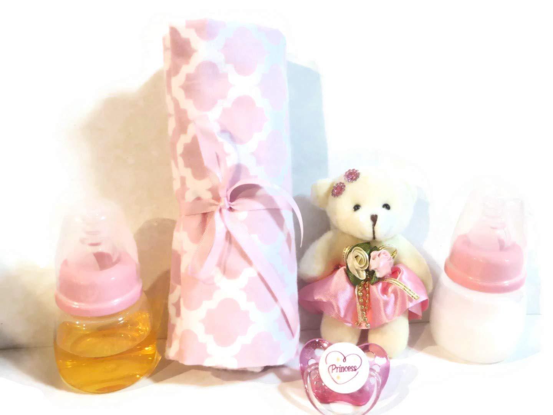 Amazon.com: 2 muñeca de bebé recién nacida botellas 2oz rosa ...