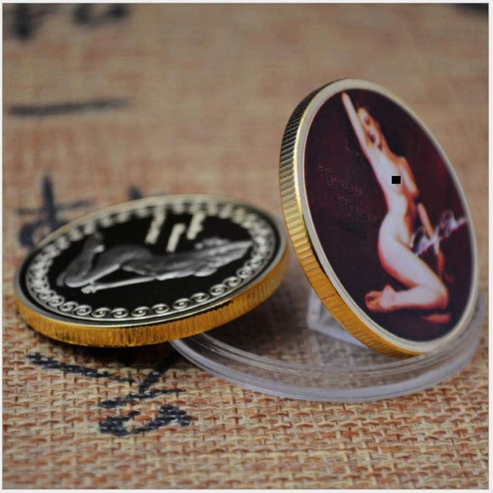 Collectible Souvenir Gifts Marilyn Monroe Commemorative Silver Coin Art Crafts