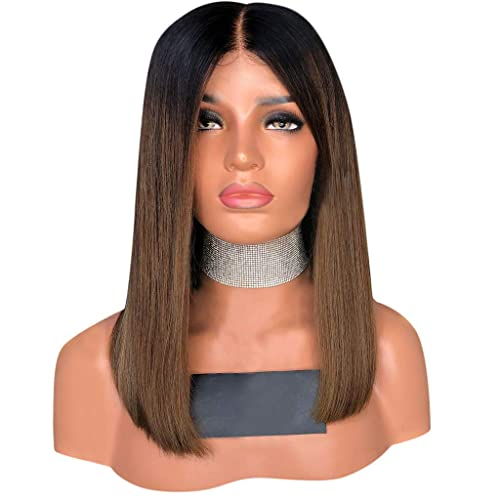 Sencillo Vida Pelucas Mujer Pelo Natural Recta Bob Straight Wigs ...