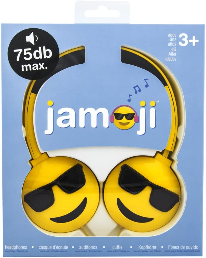 Cuffie Jamoji con asta Presa jack 3,5 mm C: Amazon.it
