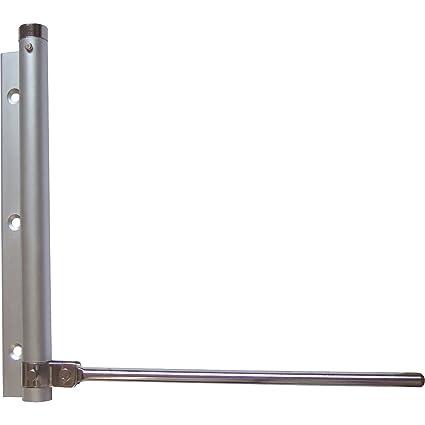 ToniTec T/ürschliesser Stangent/ürschliesser T/ürfeder aus aus Eisen Schliesskraft 60kg