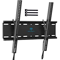 Tilting TV Wall Mount Bracket Low Profile for Most 23-55 Inch LED, LCD, OLED, Plasma Flat Screen TVs with VESA 400x400mm…