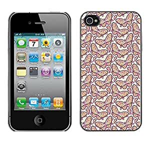 ZECASE Funda Carcasa Tapa Case Cover Para Apple iPhone 4 / 4S No.0003910