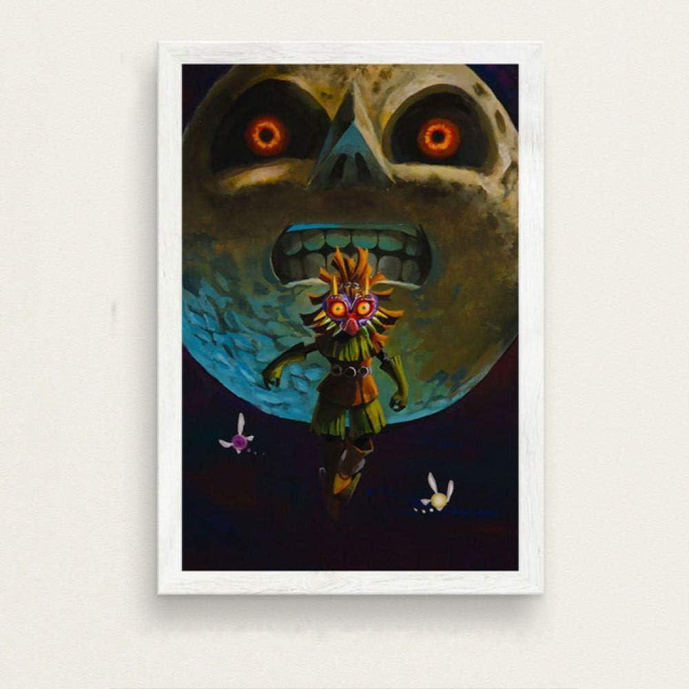 LDTSWES Puzzle de Juego de Legend of Zelda sin Marco, Rompecabezas de Madera de 1000 Piezas, para Adolescentes Adultos Juguetes de Poder Mental para niños