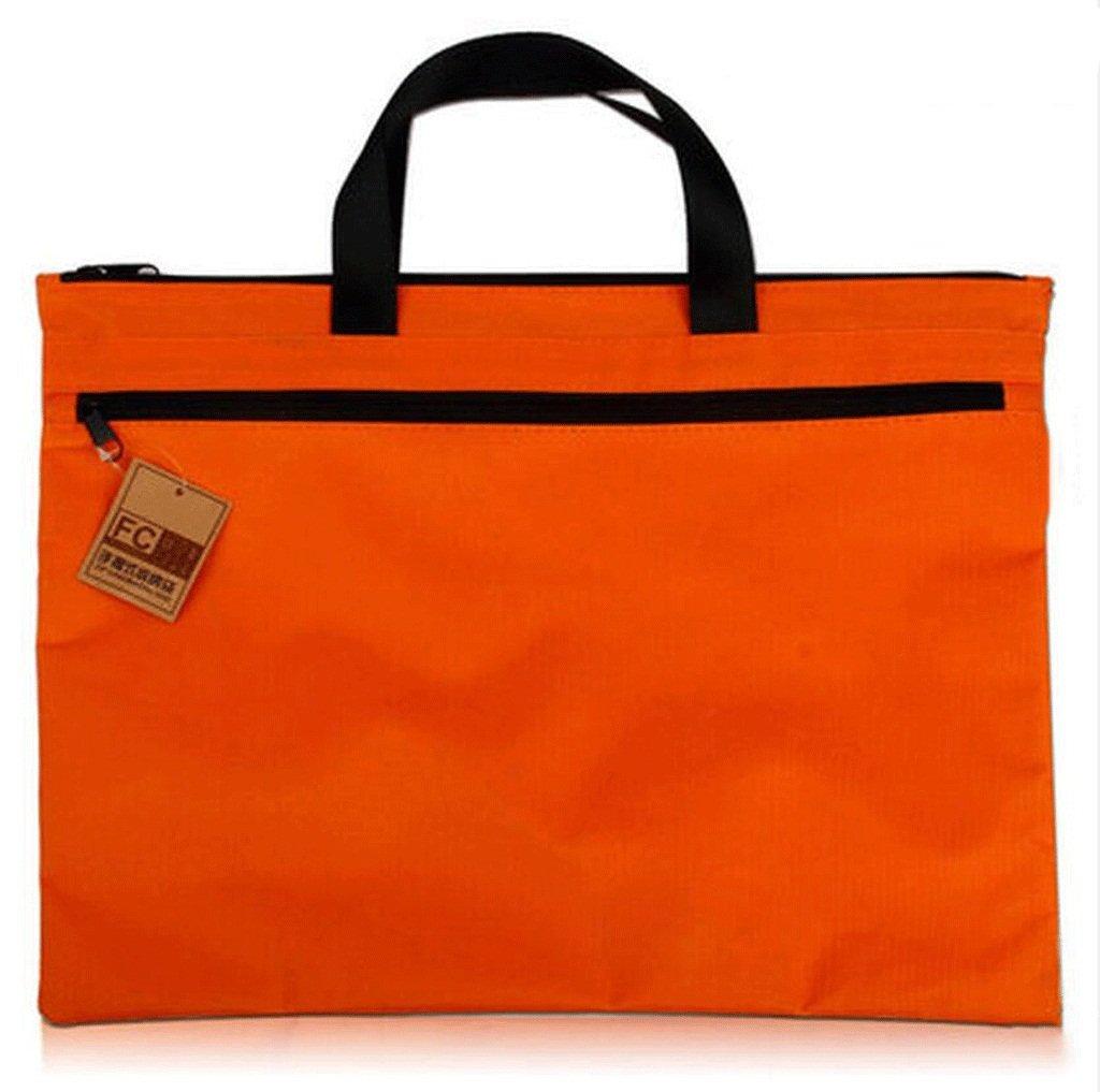 odefc Porta documenti A4 Forniture per ufficio Borsa per informazioni sulla borsa della borsa della borsa della tela di canapa ( Colore : Nero , dimensioni : *3 )