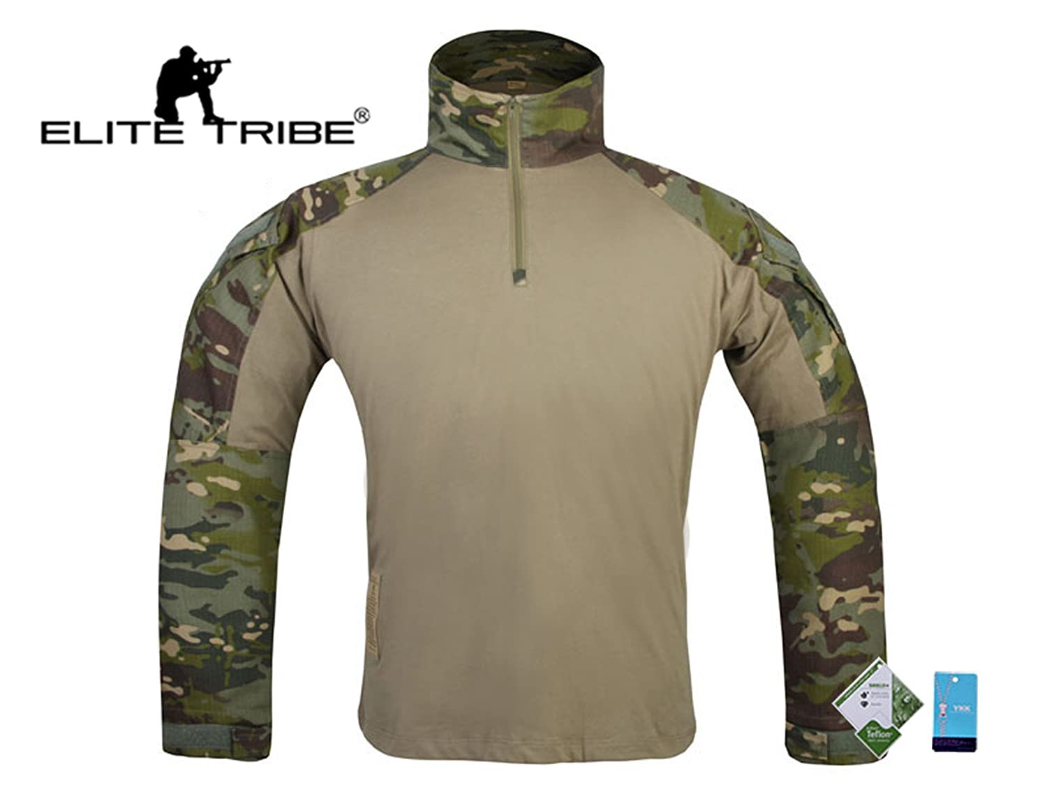 airsoft caza táctico camisa combate Gen3 camisa Multicam Tropic Tactical Outdoor