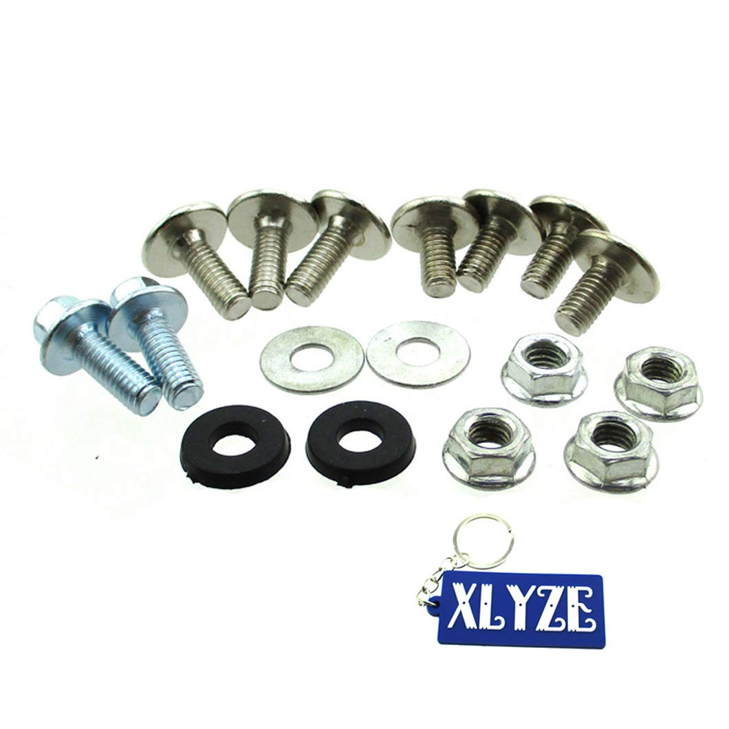 XLYZE Chinese Pit Dirt Bike CRF110 Fairing Screw Set Pitbike Plastic Panel Bolts