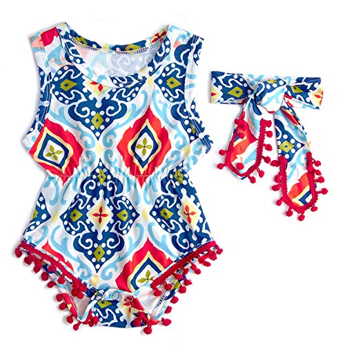 (African Style Simple Winter Sunsuit for Kids Baby 1/2 Birthady Multicolour 6M)