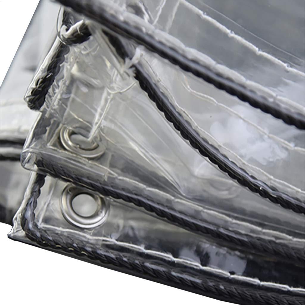 JNYZQ PVC-wasserdicht, Sonne, Staub, Regenvorhang aus Segeltuch: Geeignet für LKW, Fahrräder, Stiefele, Wasserdichte Segeltuchvorhänge für Balkonwindschutzscheiben, Essensstände, Plane 730g / m2