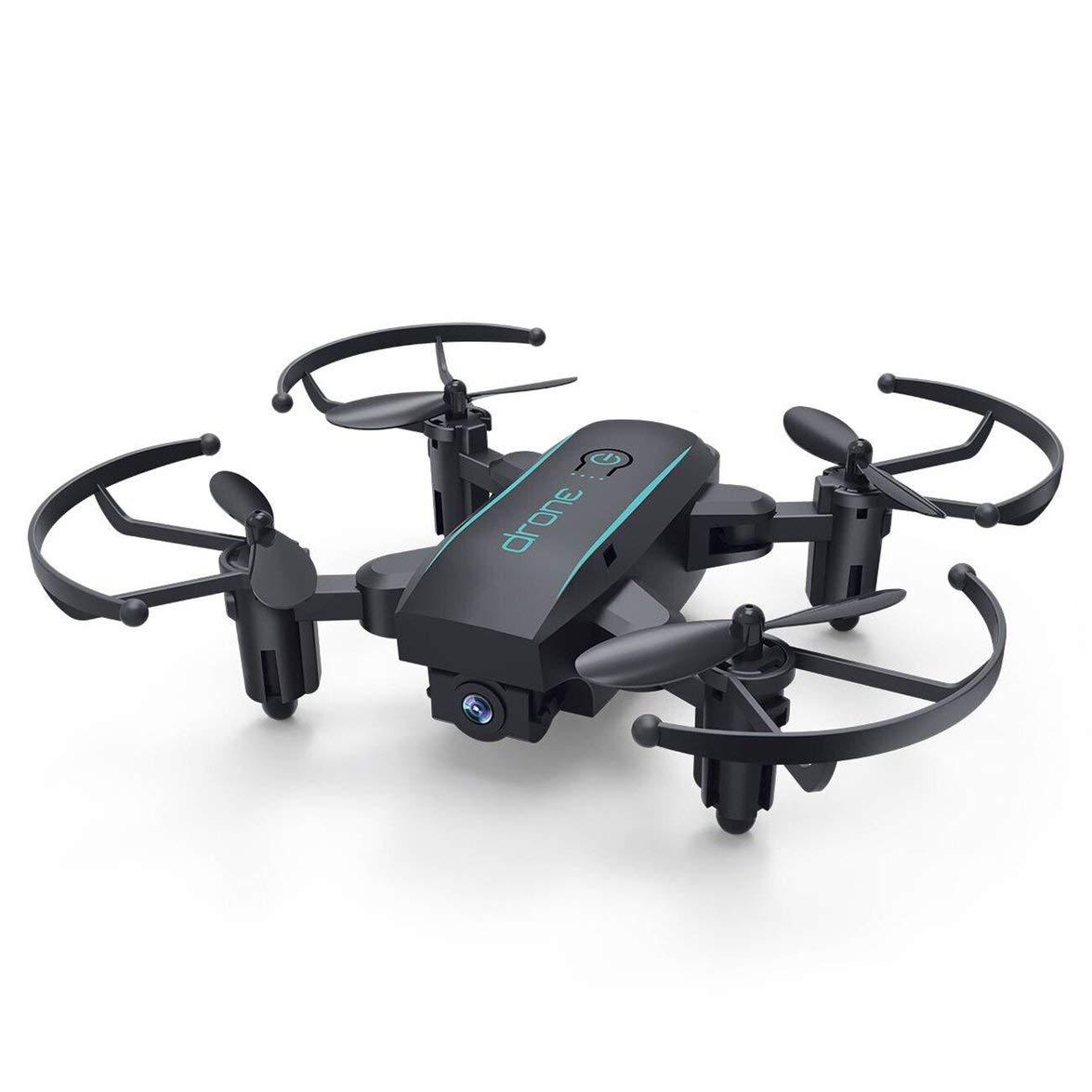 Kongqiabona Mini Drone Pieghevole con Telecamera HD 720P 2.4G RC Drone FPV WiFi Micro Quadrocopter modalità Senza Testa Altitude Hold