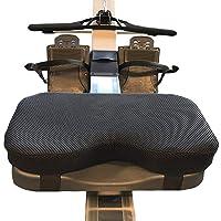 Zitkussen voor roeiapparaat - Memory Foam wasbaar mouwen sport horizontaal vast fietskussen