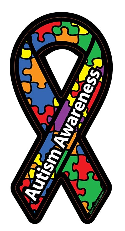 81282cce3d7 NI283 Autism Awareness Ribbon Car Decal Sticker | Premium Quality Vinyl  Decal | 7-Inches X 3-Inches