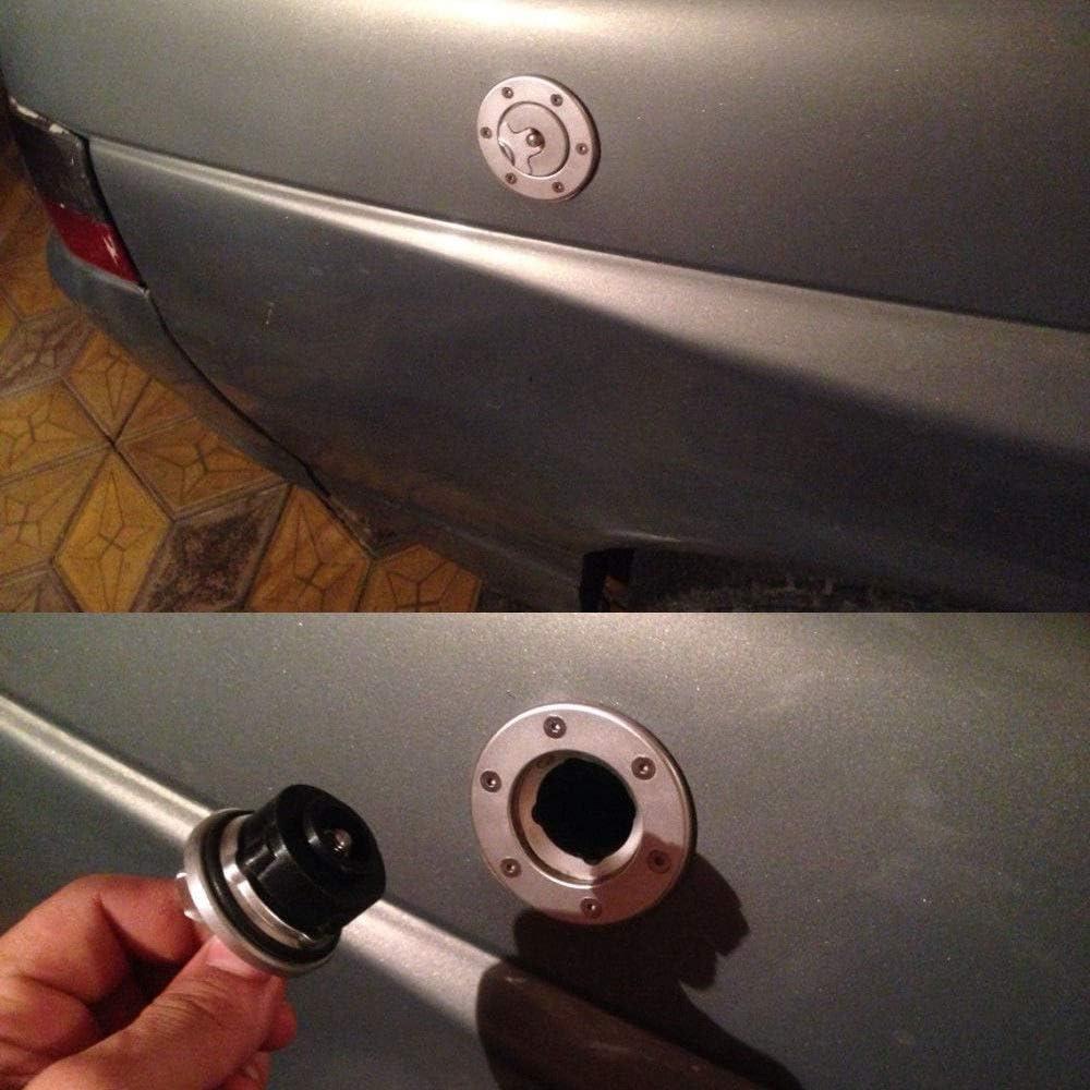Fast Pro Gas combustibile Copertura Tappo del Serbatoio Moto CNC in Alluminio Billet KEYLESS Twist off per Suzuki GSX600/GSXR600//750/SV650/GSXR1000/TL1000/R//S GSF1200/Hayabusa
