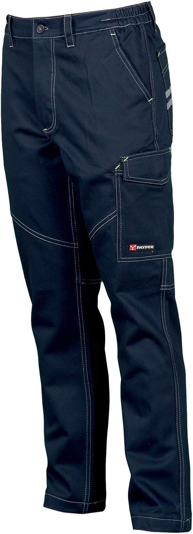 CHEMAGLIETTE Pantaloni da Lavoro Uomo 100/% Cotone Invernale Multi Tasche Payper Worker Winter
