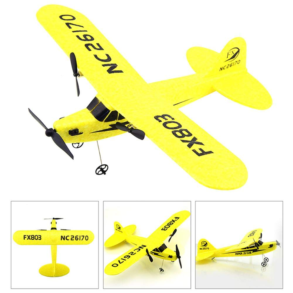 Ceepko Glider Plane, Remote Control Model Toy, 2.4G Two-Way FX803 RC Plane EPP Fixed Wing Aircraft, Glider Airplanes for Kids Party Favors, Adults Outdoor Sport Game Toys, Best Birthday Gift by Ceepko